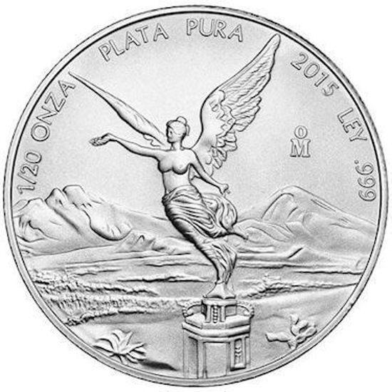"""Picture of Срібна монета """"Мексиканський Лібертад"""" 1.555 грам"""