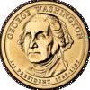 """Picture of США 1 долар 2007, 1-й президент Джордж Вашигтон, """"Серія Президентів"""""""