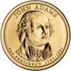 "Picture of США 1 долар 2007, 2 президент Джон Адамс (1797-1801), ""Серія Президентів"""