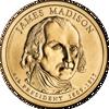 """Picture of США 1 доллар 2007, 4 президент Джеймс Мэдисон (1809—1817), """"Серия Президентов"""""""