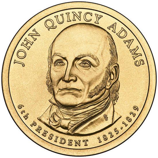 """Picture of США 1 долар 2008, 6 президент Джон Квінсі Адамс (1825-1829), """"Серія Президентів"""""""