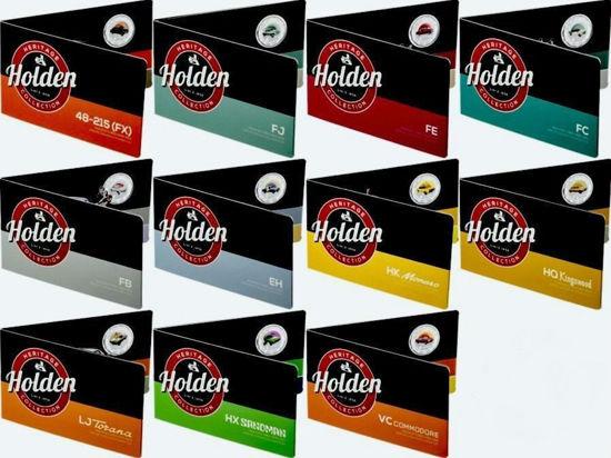 "Picture of Австралія набір з 11 монет 50 центів 2016 Автомобілі ""Холден - колекція спадщини"" (Holden heritage collection)"