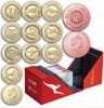 """Picture of Австралія набір з 11 монет 1 долар 2020 Літаки """"100 років авіакомпанії Qantas"""""""
