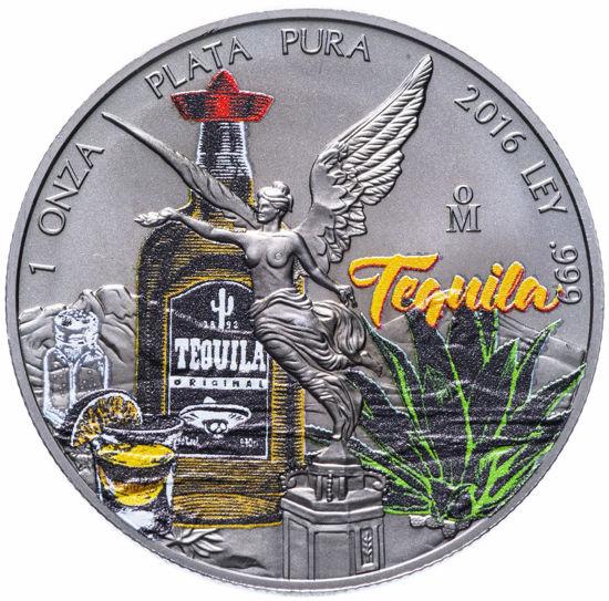 Picture of Мексика 2016 1 Onza Libertad 1 Oz Tequila Серебряная монета