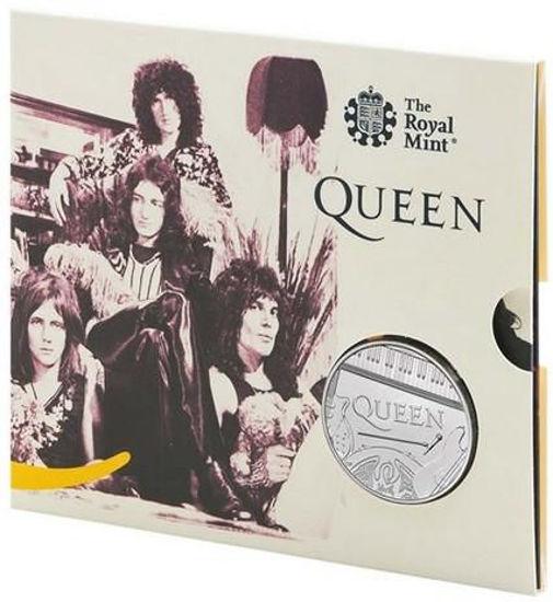 Picture of Англія, Великобританія 5 фунтів 2020. «Queen» - британська рок-група
