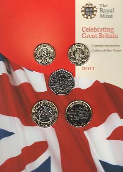 Picture of Англія, Великобританія Річний набір 2011 через 13 монет. BU