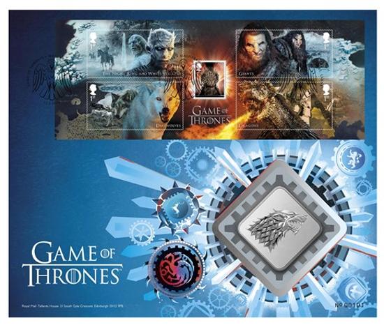 Picture of Англия, Великобритания. Игры Престолов: Дом Старк. Медаль (Game of Thrones: House Stark)