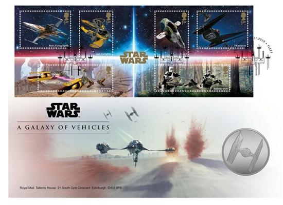 Picture of Англія, Великобританія. Зоряні війни: Галактика транспортних засобів. Медаль Star Wars: A Galaxy of Vehicles