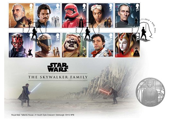 Picture of Англия, Великобритания. Звездные войны: Семья Скайуокер. Медаль Star Wars: Skywalker Family