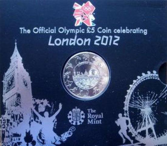 Picture of Англія, Великобританія, 5 фунтів 2012 Літні Олімпійські ігри 2012 року в Лондоні