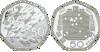 """Picture of Англія, Великобританія, 50 пенсів 1994 Набір з 2х монет """"50 років D-Day і єдиного європейського ринку"""". Срібло"""