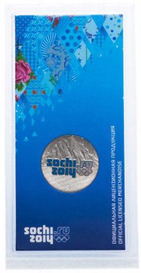 """Picture of Росія 25 рублів 2011, """"Гори Сочі-2014, Серія"""" XXII Зимова Олімпіада в Сочі-2014 """"(в блістері)"""