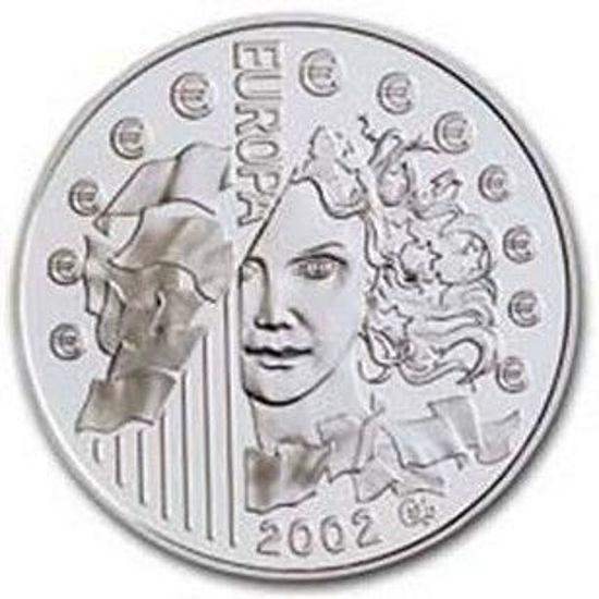 "Picture of Франція 1,5 євро 2002 ""Європа-2002"". Срібло 22,2 гр. Proof"
