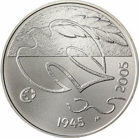Picture of Финляндия 10 Евро 2005, 60 лет мира. Серебро 25,5 гр. Proof