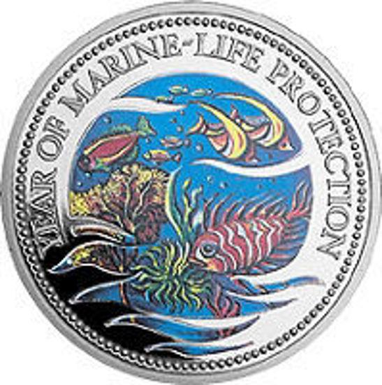 """Picture of Палау 1 доллар 1992, """"Год защиты морской жизни, Серия """"Защитим морской мир"""""""