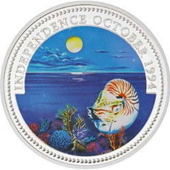 """Picture of Палау 1 долар 1994 """"Проголошення незалежності, Серія"""" Захистимо морський світ"""""""