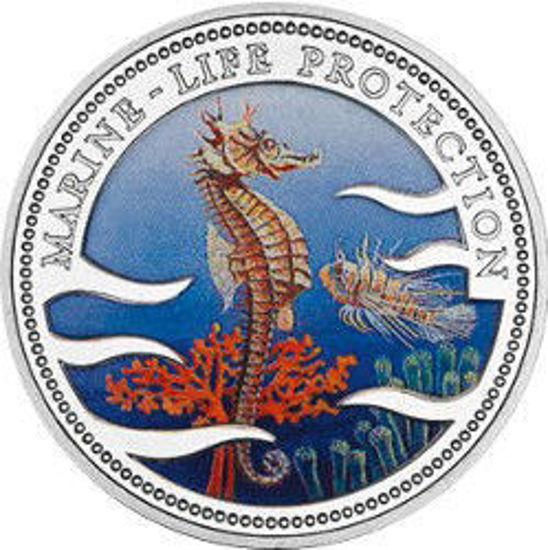 "Picture of Палау 1 доллар 1995, ""Морской конек, Серия ""Защитим морской мир"""