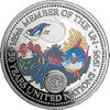 """Picture of Палау 1 долар 1995 року, """"50 років ООН, Серія """"Захистимо морський світ"""""""
