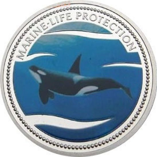 """Picture of Палау 1 долар 2003 """"Касатка, Серія """"Захистимо морський світ"""""""