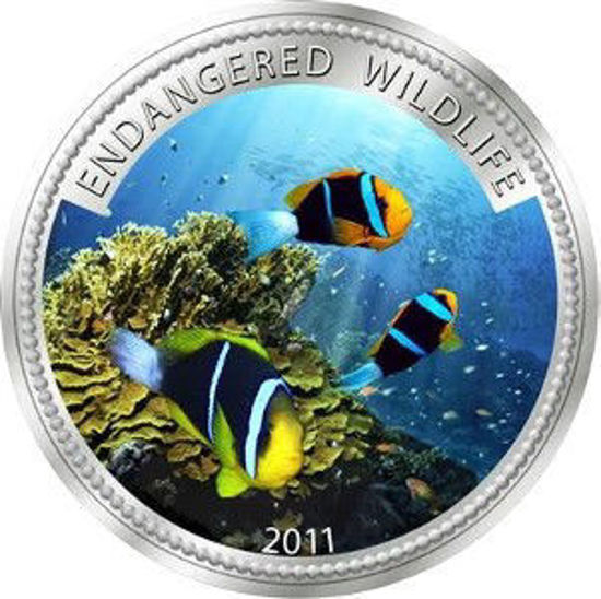 "Picture of Палау 1 долар 2011, ""Риба анемона, Серія ""Дика Природа в небезпеці"""