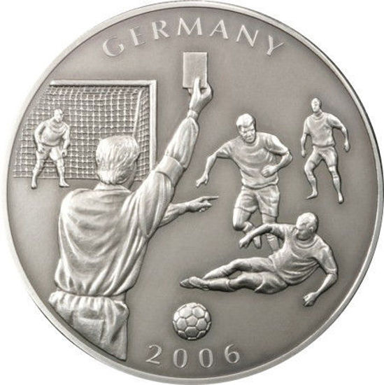 "Picture of Либерия 5 долларов 2006, Чемпионат мира по футболу ""Германия""."
