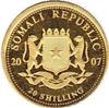 """Picture of Золотая монета """"Слон - Африканская дикая природа"""" Сомали 2007 0.62 грамм"""