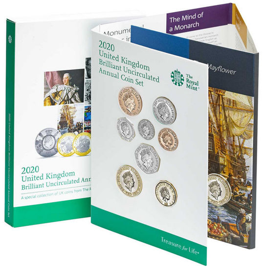 Picture of Англія, Великобританія Річний набір 2020 з 13 монет. BU
