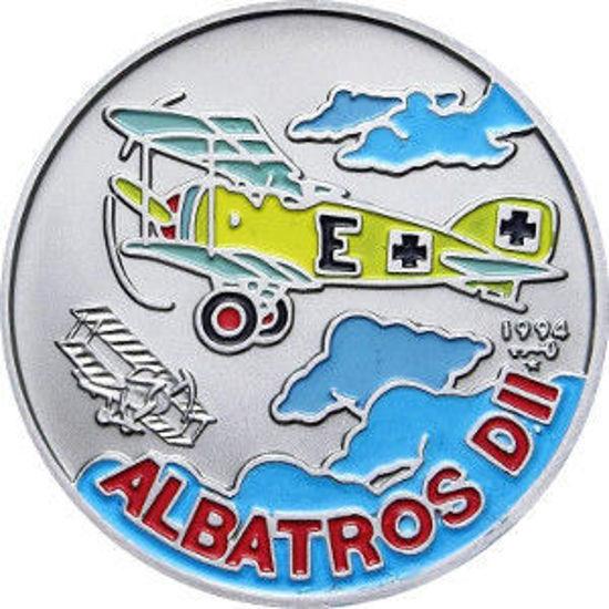 Picture of Куба 1 песо 1994, Аэроплан Альбатрос