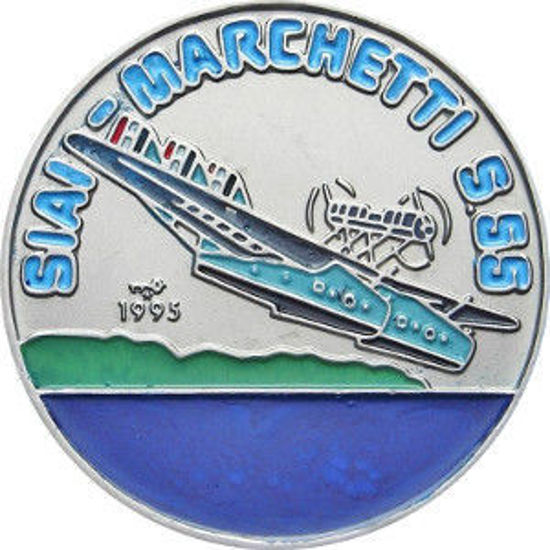 Picture of Куба 1 песо 1995 року, Гидросамолет Савоя Марчетті