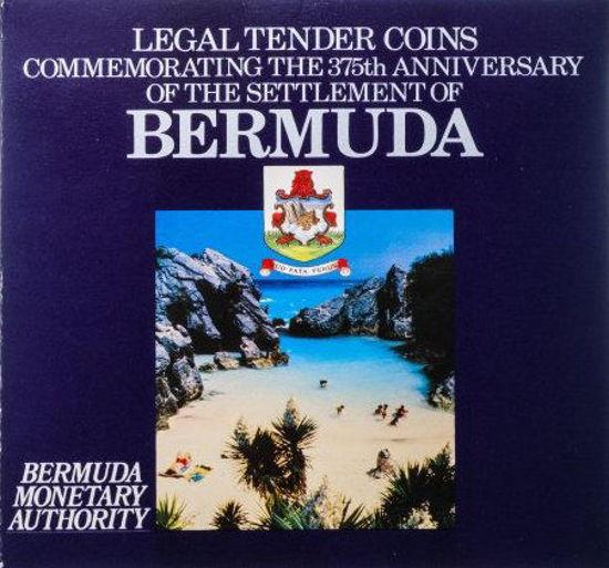 """Picture of Бермудские острова 25 центов 1985, Набор из 11 монет """"375 лет Бермудам"""" (в буклете)"""