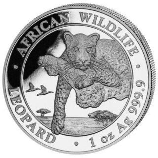 Picture of Леопард. Африканские дикие животные 31,1 грамм Silver Leopard 2020