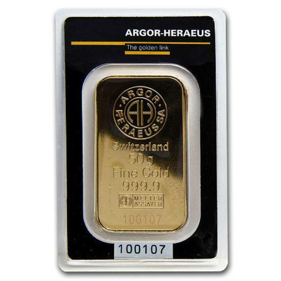 Picture of Золотий злиток 50  грамм