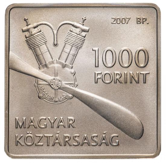 Picture of Угорщина 1000 форинтів 2007, 125 років від дня народження Яноша Адорьяна