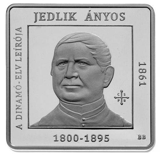 Picture of Венгрия 1000 форинтов 2011, 150 лет со дня рождения Аньоса Йедлика