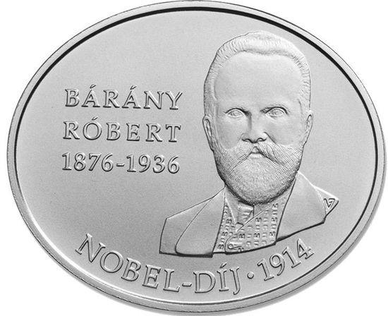 Picture of Венгрия 2000 форинтов 2014, 100 лет со дня получения Нобелевской премии Робертом Барани
