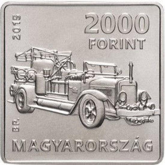 Picture of Венгрия 2000 форинтов 2015, 125 лет со дня рождения Корнела Сильваи