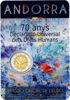 Picture of Андорра 2 євро 2018, 70 років декларації прав людини