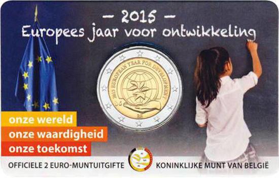 Picture of Бельгия 2 евро 2015, Европейский год развития