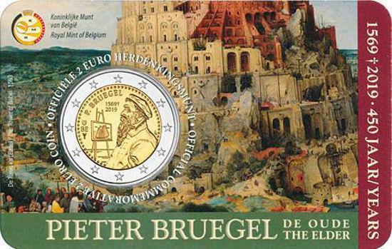 Picture of Бельгия 2 евро 2019, 450 лет со дня смерти Питера Брейгеля Старшего