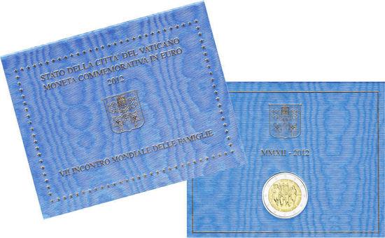 Picture of Ватикан 2 евро 2012, VII Всемирная встреча семей в Милане