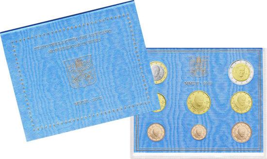 Picture of Ватикан Годовой набор монет евро 2012 (8 монет в буклете)