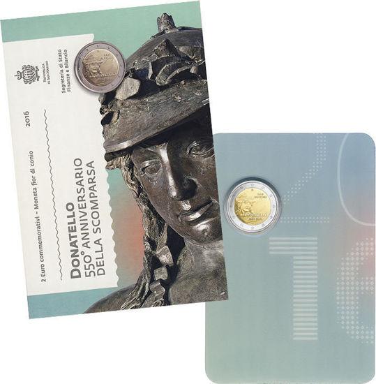Picture of Сан-Марино 2 евро 2016,  550 лет со дня смерти Донателло