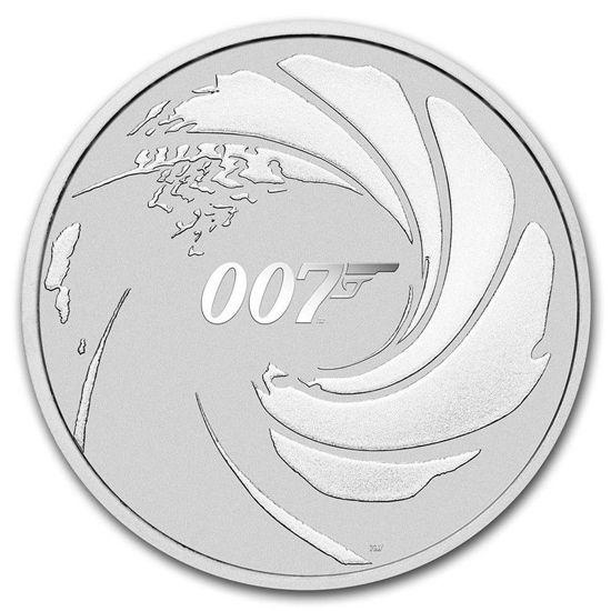 "Picture of Серебряная монета  ""Джеймс Бонд Агент 007"" 31,1 грамм 2020 г."