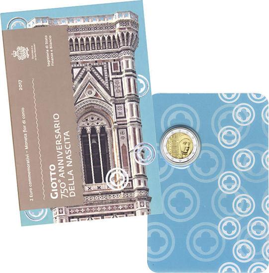 Picture of Сан-Марино 2 євро 2017, 750 років від дня народження Джотто ді Бондоне
