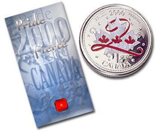 """Picture of Канада 25 центів 2000, День Канади: Гордість. Серія """"Міллениум"""""""