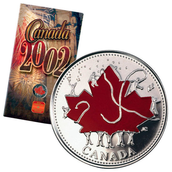 Picture of Канада 25 центів 2002, День Канади. У буклеті