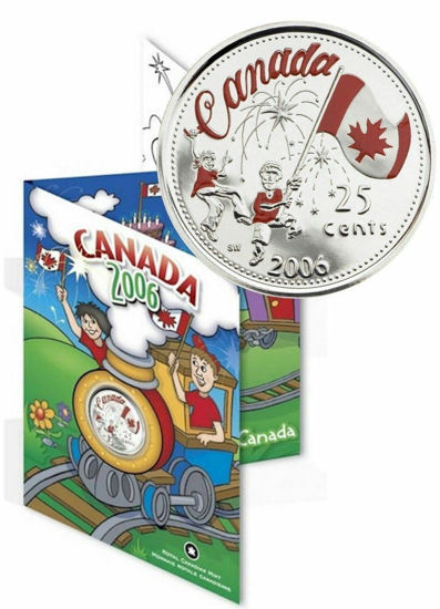 Picture of Канада 25 центів 2006 День Канади. В буклеті