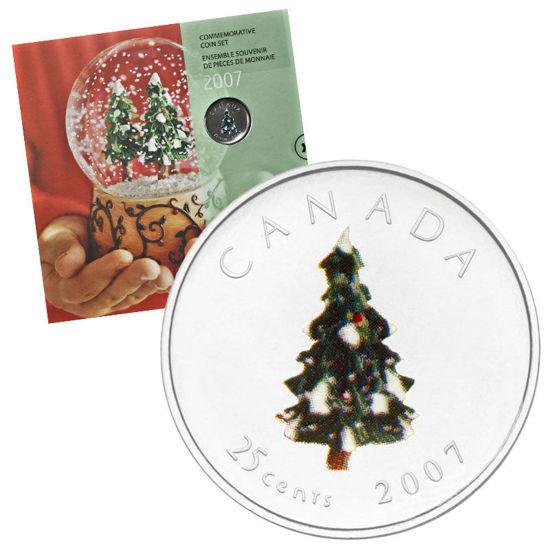 Picture of Канада Набор из 7 монет 2007, Рождественская елка. В буклете