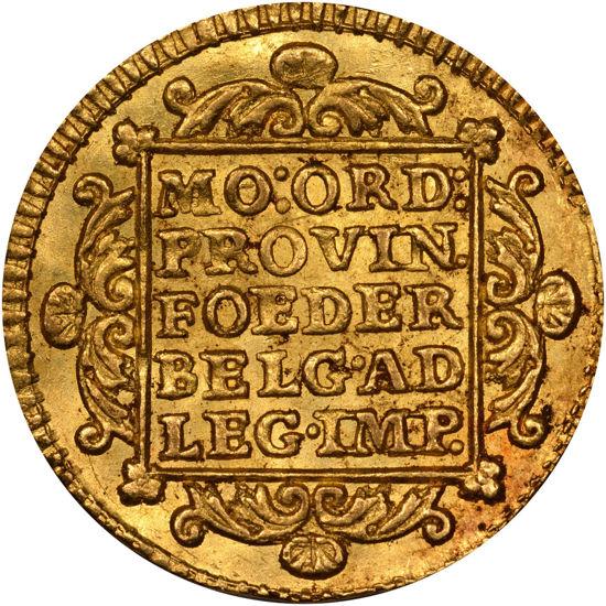 "Picture of Золота монета ""Голландський дукат"" 3.49 грам Голландія 1776"