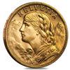"Picture of Золотая монета ""Хельветия - HELVETIА ""  6.45 грамм Швейцария  1897-1935 і в 1947-1949"